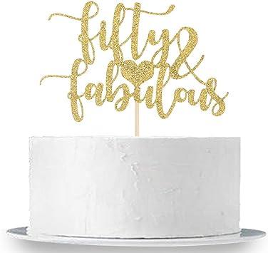 Amazon.com: Innoru – Decoración para tarta con purpurina ...