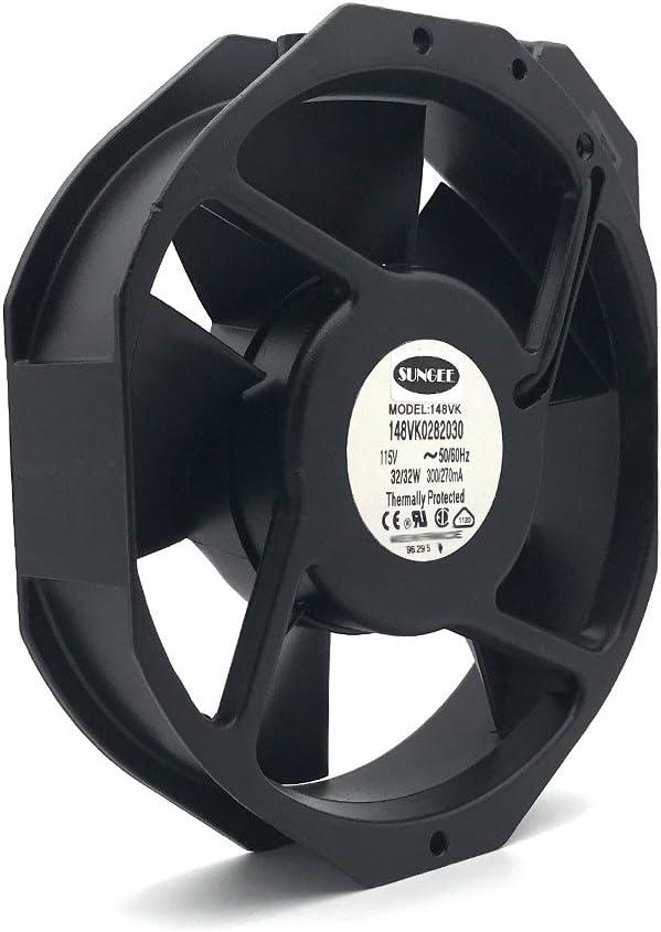 148VK0282030 115V 17215138MM 32W cabinet metal AC cooling fan