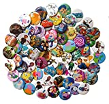 Plants Vs. Zombies Buttons Badges 9 Pcs Set #1