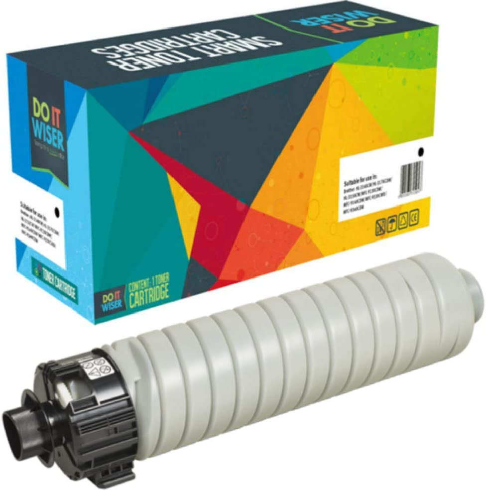 Do it Wiser Compatible Toner Cartridge Replacement for Ricoh MP 4054 MP 5054 MP 6054 MP 5055 MP 4055 MP 6055   842126 841999 (Black 37,000 Pages)