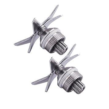 aokur plata licuadora de Acero Inoxidable Exprimidor piezas hielo cuchilla de recambio para Vitamix 5200 Series batidoras: Amazon.es: Hogar