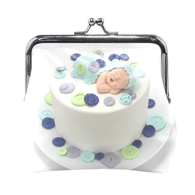 Coin Purse Cute As Button Baby Boy Cake Womens Wallet Clutch Bag Girls Small
