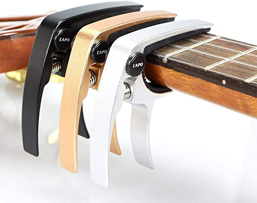 Hjyi Cejilla Guitarra,Ukreli Tono Clip Guitarra Instrumento ...