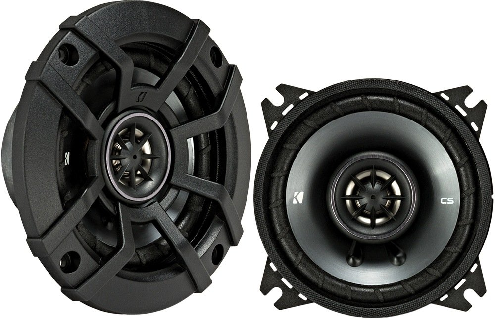 Kicker 43CSC44 CSC4 4-Inch Coaxial Speakers 4-Ohm
