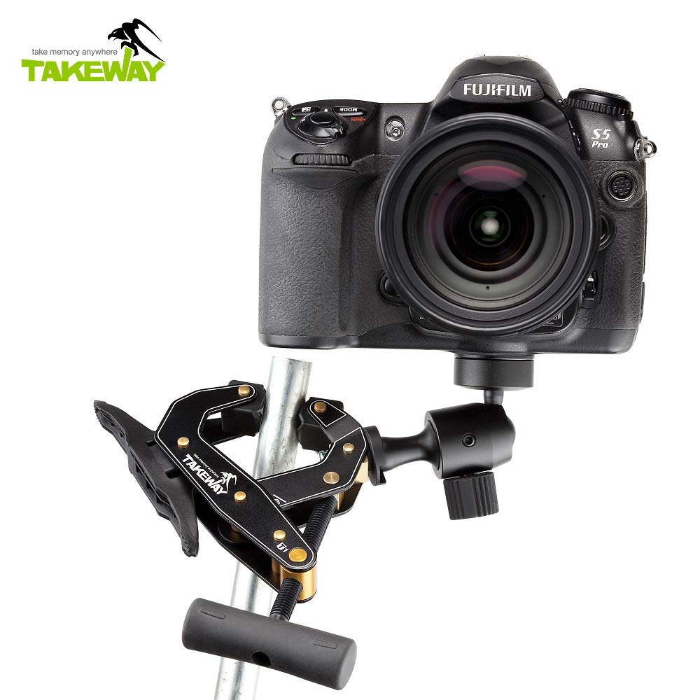 Takeway T1 Clampod for Camera/Tablet/Smartphone [TY101] by TAKEWAY