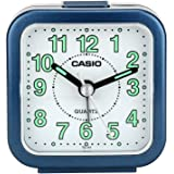 Casio TQ-141-2DF Analog Table Clock, Blue