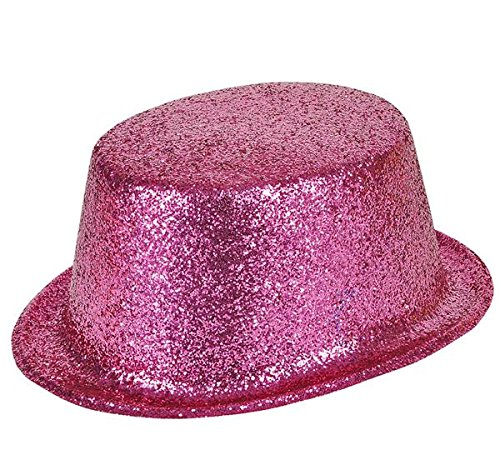 GLITTER TOP HATS, Case of 144 by DollarItemDirect