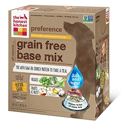 The Honest Kitchen Preference: Dehydrated Grain Free Base Mix Dog Food, Just Add Protein, 6 lbs (Makes 24 lbs of Base Mix) by Honest Kitchen