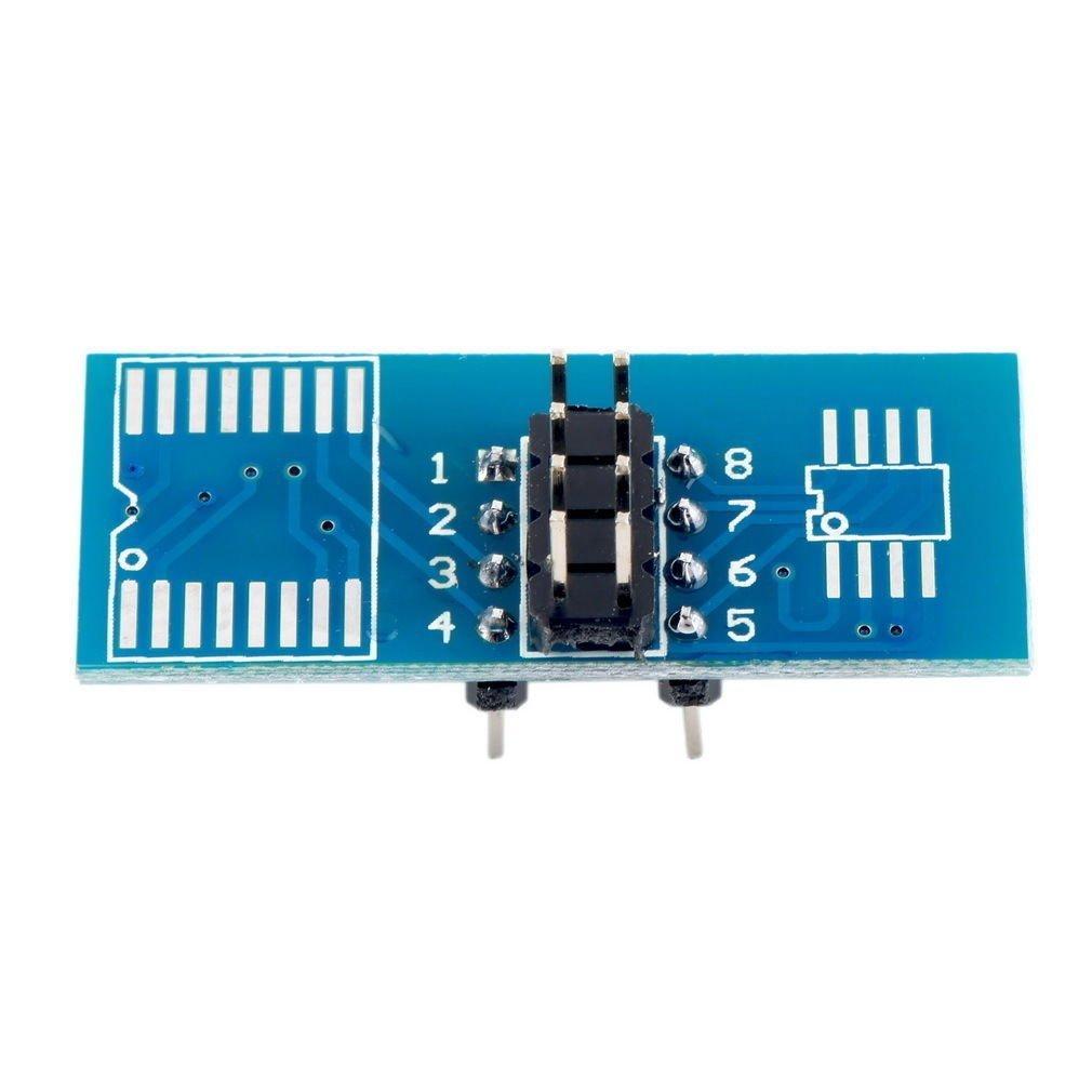 Signstek SOIC8 SOP8 Flash Chip IC Test Clips Socket Adpter Programmer BIOS