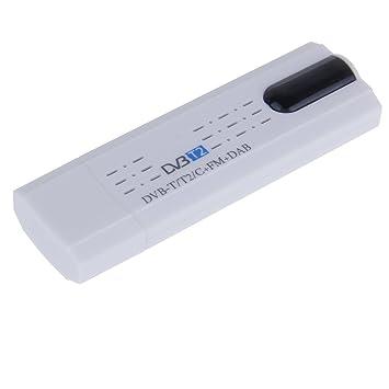 Anmyox - Mini sintonizador de TV portátil USB 2.0 Dongle TV receptor: Amazon.es: Electrónica