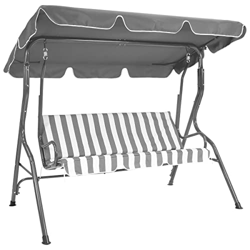 Argos 2 Seater Garden Swing Chair Black Amazon Co Uk