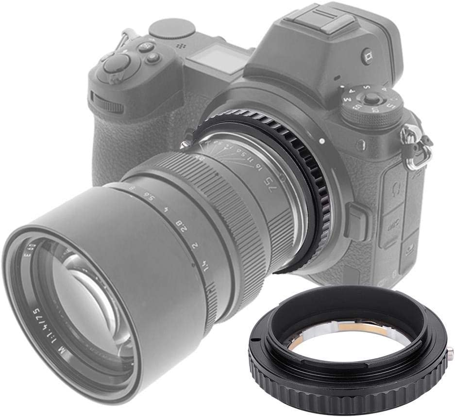 Lighter More Durable for Mount Lens for Full Frame Mirrorless Camera Body Taidda Camera Adapter Ring