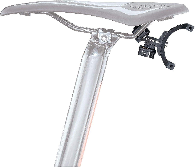 Topeak Tri-backup Elite 60//90 SELLA supporto Borraccia Bicicletta Cartuccia