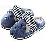 Bimba Bambino Pantofole Inverno Bambina Scarpe Caldo Sveglia Molle della Pantofole Peluche del Fumetto Slippers 1-7 Anno