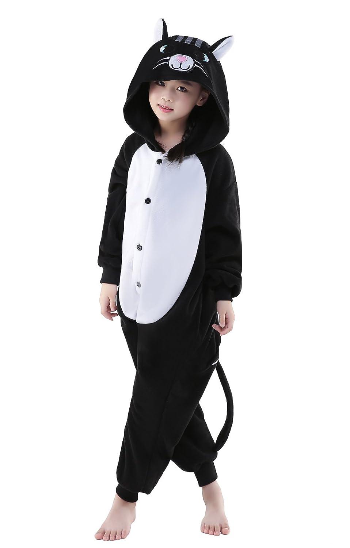 NEWCOSPLAY Children Unisex Pajamas Animal Costume Cosplay