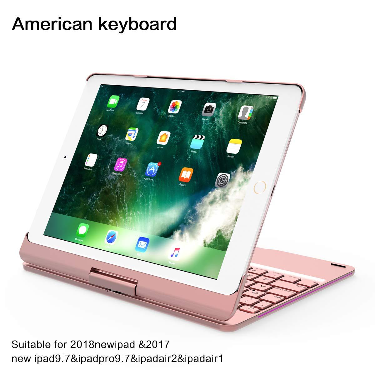 【年間ランキング6年連続受賞】 MeetJP 2018 緩衝器 New [ iPad シェル, 柔らかい iPad グリップ TPU 薄いです [ スリム 合う ] 保護 カバー 衝撃吸収 ポーチ 耐久性のある 電話 シェルs 緩衝器 [Rose Gold ] Rose Gold B07L3V51ZJ, Pandoor:77f18e5d --- a0267596.xsph.ru