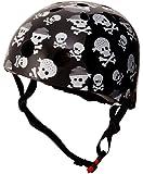 Kiddimoto Skullz Helmet, Medium (53-58 cm)