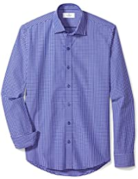 Men's Slim Fit Supima Cotton Sport Shirt (3 Collars Available)