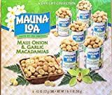 Maui Onion & Garlic Premium Roasted Macadamias, Island Classics 6-Tin Gift Pack