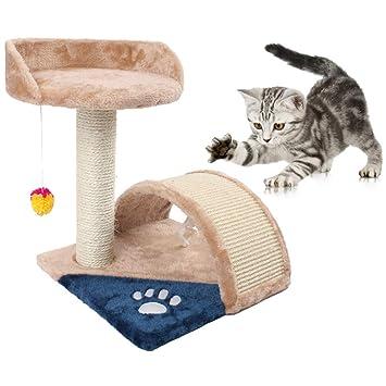 Estructura de Gato, Árbol de Gato, Garra de molienda de Columna de sisal,
