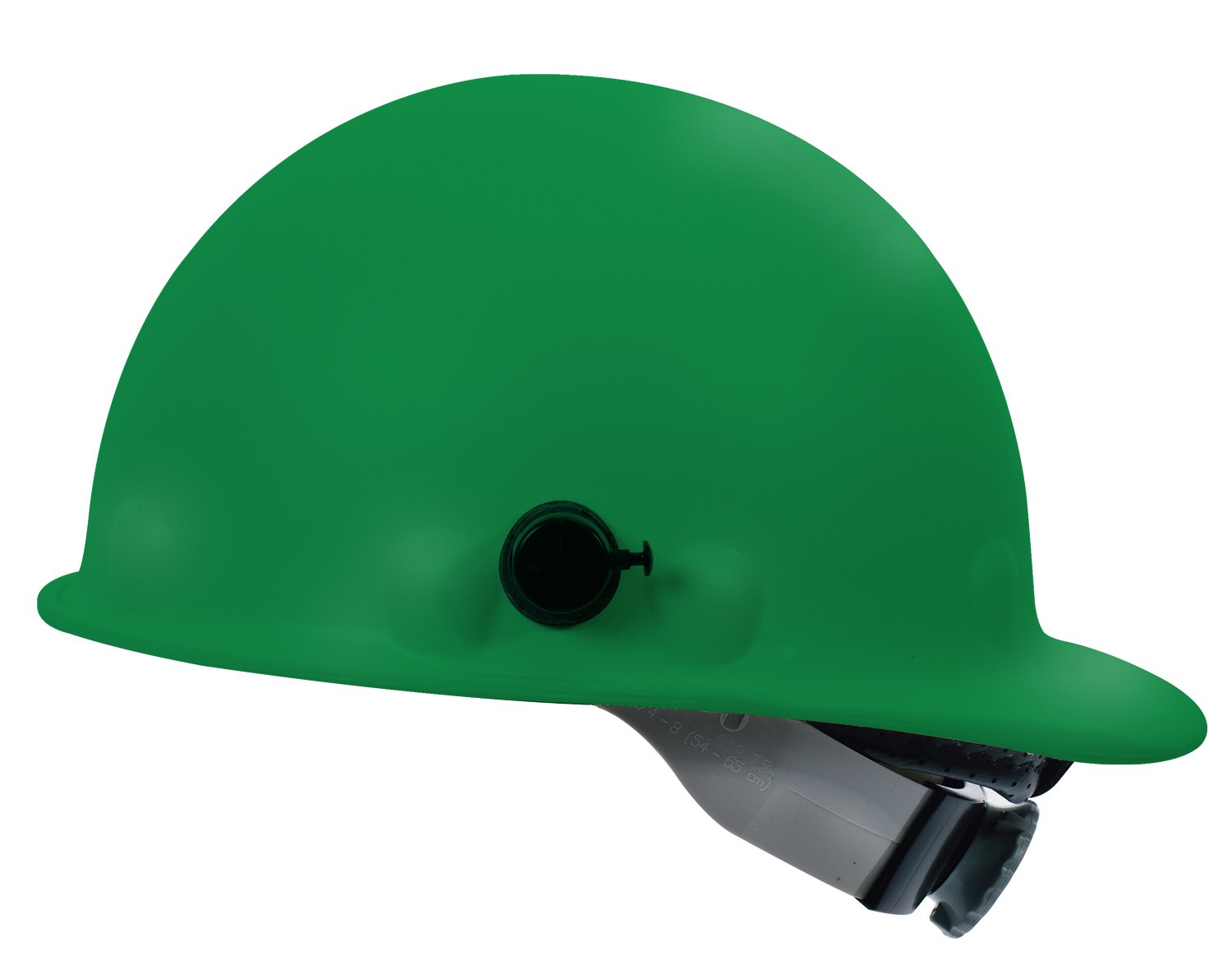 Fibre-Metal by Honeywell P2AQSW74A000 Super Eight Swing Strap Fiber Glass Cap Style Hard Hat with Quick-Lok, Green by Honeywell B016IHEBXU