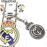 Llavero Real Madrid F.C Modelo 2 Producto Oficial: Amazon.es ...