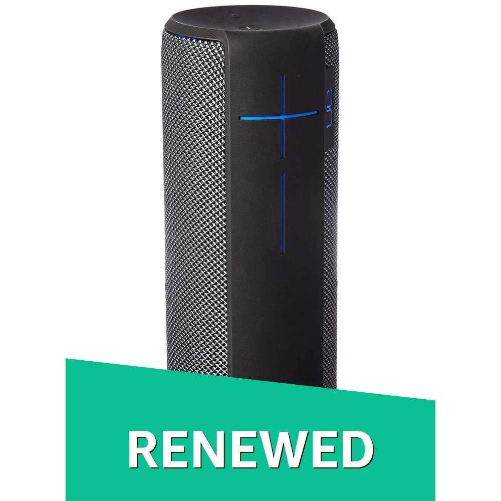 UE MEGABOOM Charcoal Black Wireless Bluetooth Speaker (Charcoal Black, Renewed) by Ultimate Ears