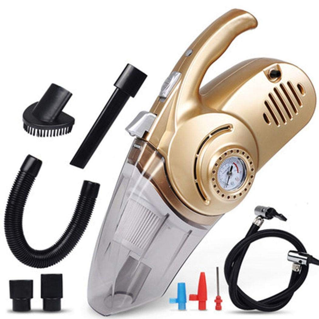 Kindes 4 in1 Multifunctional 3000mba Portable Low Noise Wet and Dry Use Handheld Car Vacuum Cleaner by Kindes