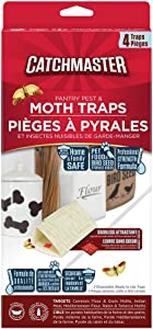 Catchmaster 813SD Pantry Pest Moth Traps, Natural