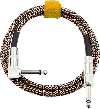 Hemobllo 2pcs Cable de instrumento Cable de bajo recto a derecho ...