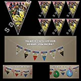 Fortnite Birthday Party Triangle Pennant Banner #1