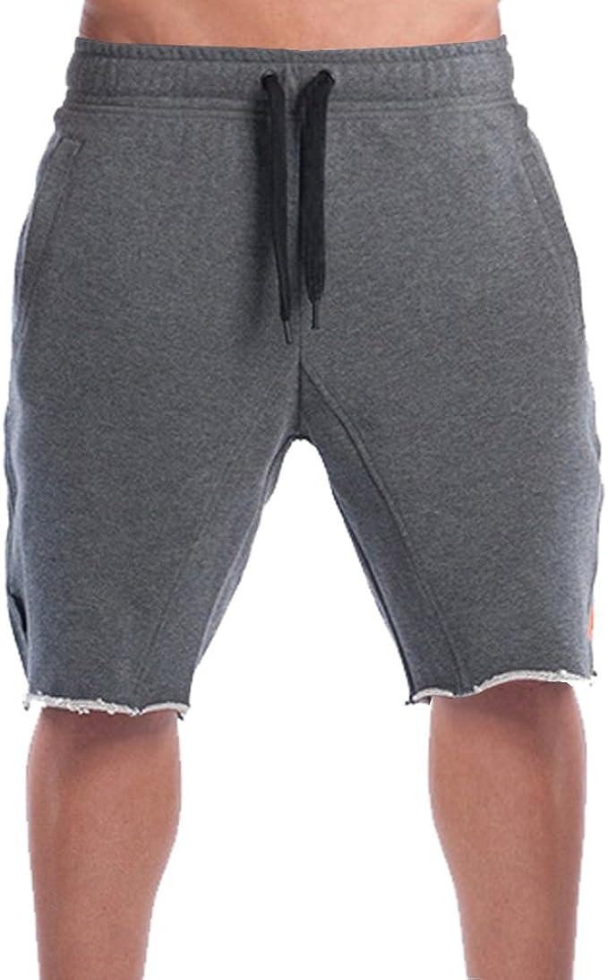 Broki - Pantalón Corto - para Hombre Gris Gris: Amazon.es: Ropa y ...