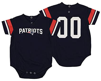 605161b6 Amazon.com: Outerstuff NFL Baby New England Patriots Jersey Bodysuit ...