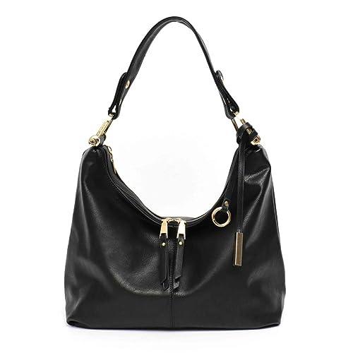 dacd76b38c Pajamasea Leisure Women Hobo Bag Female Faux Vegan Leather Top-Handle  Shoulder Messenger Bags For Girls