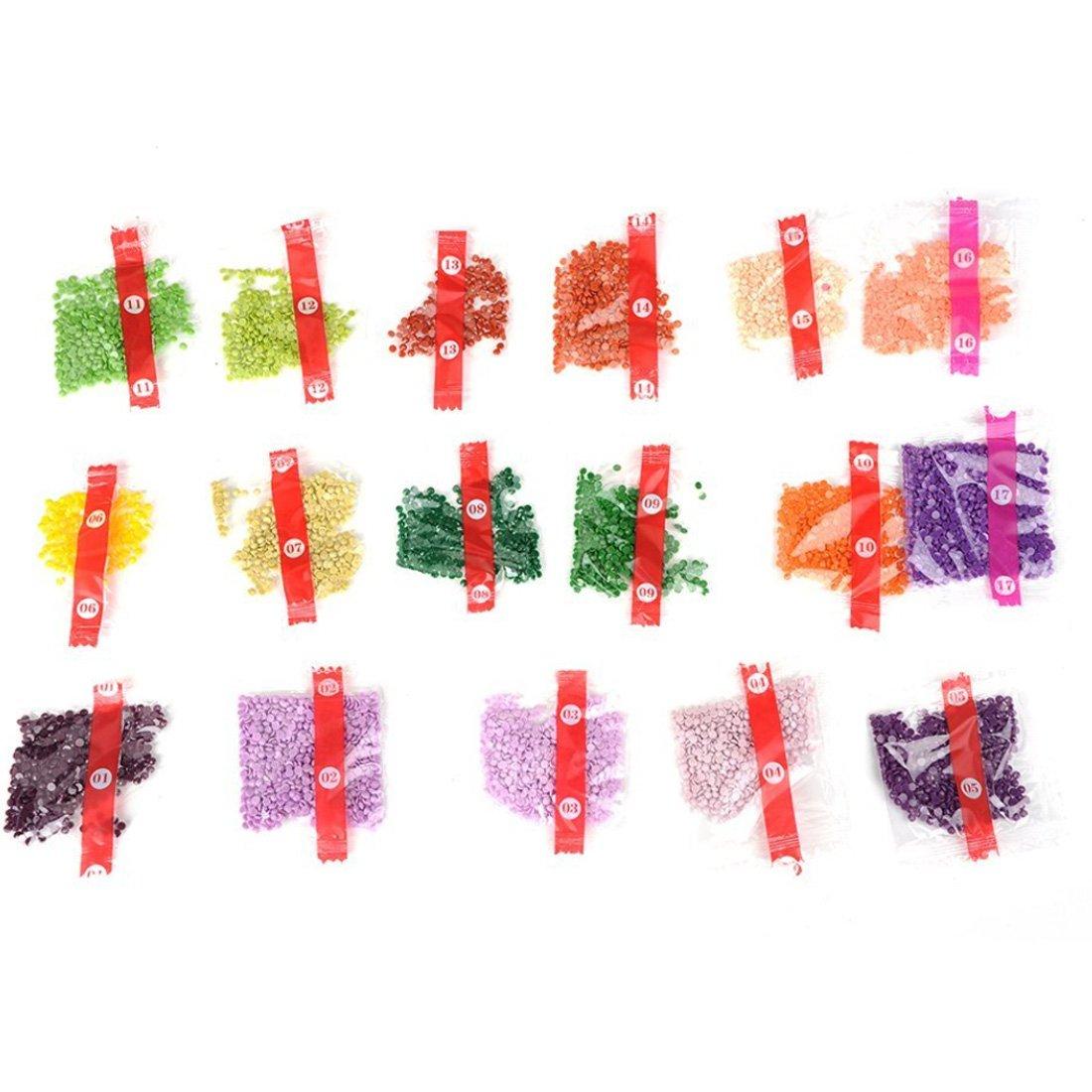 Taza de café rosa /(patrón completo de punto de cruz bordado DIY ...