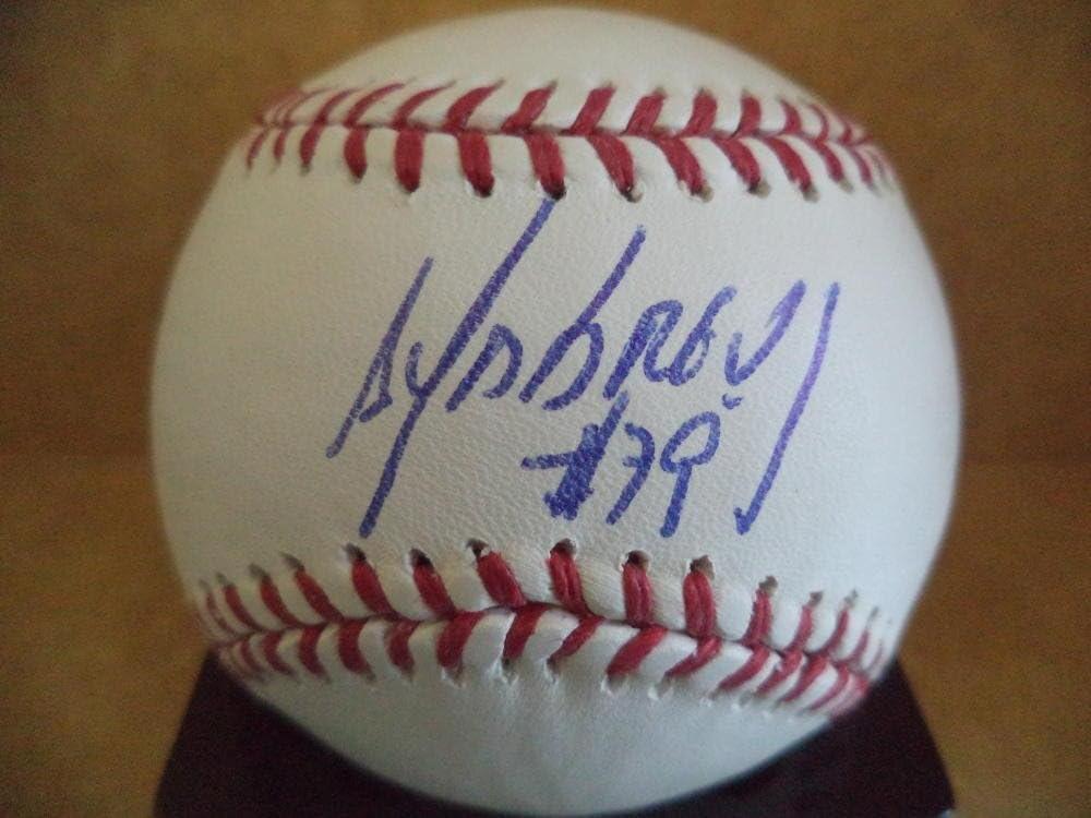 Autographed Baseballs Baseball W//coa A Jose Abreu White Sox Autographed Signed M.l