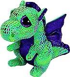 Ty - TY36637 - Beanie Boo's - Porte-clés Cinder Le Dragon