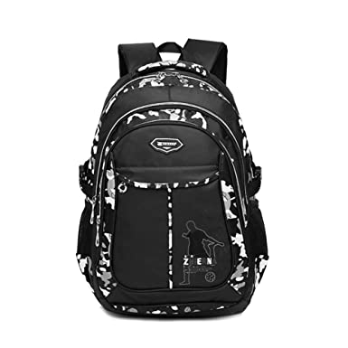 Amazon.com | Boys School Backpack for Elementary School & Middle ...