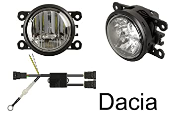 LED Tagfahrlicht + LED Nebelscheinwerfer (nur passend für Fahrzeuge ...