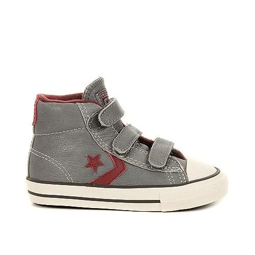 ff2cad4cf EV Player Star-Mid Converse Zapatillas para bebé niña  Amazon.es  Zapatos y  complementos