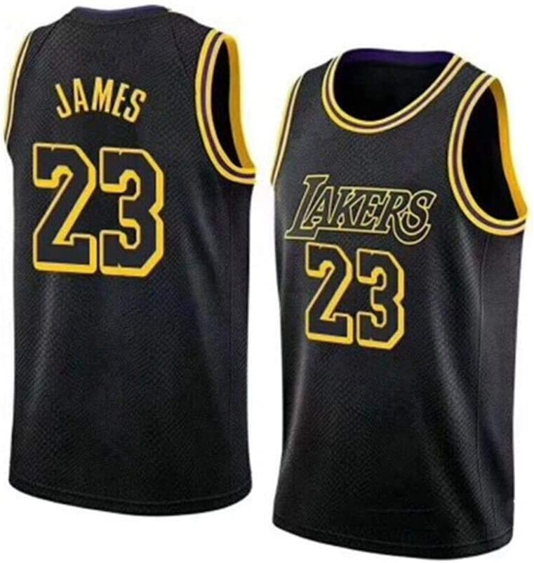 2019 Trikot Herren Jersey Lakers No.23 James Basketball Anzug Basketball-Bekleidungssets F/ür Herren Tops S - XXXL