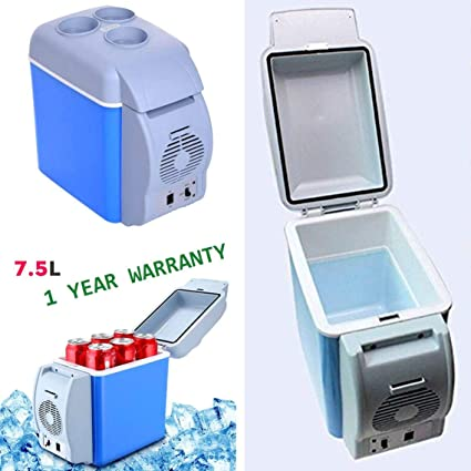 Car Small Refrigerator 7 5L Mini Portable Fridge/Freezer