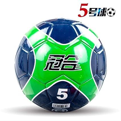 zuq - Balón de fútbol 5 Adultos Primaria y Secundaria Escuela ...