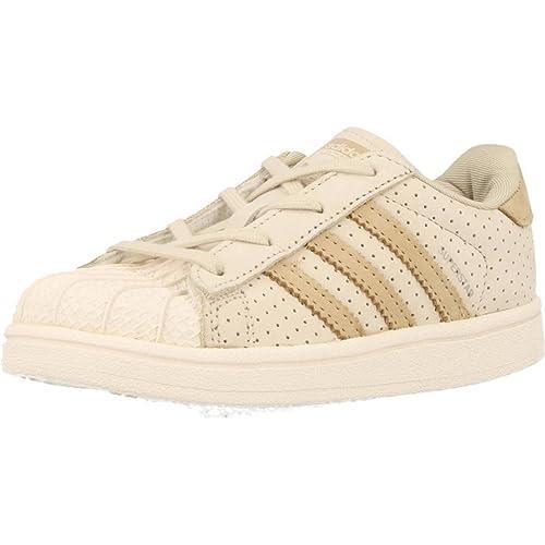 Zapatillas para niño, Color Beige, Marca ADIDAS ORIGINALS, Modelo Zapatillas para Niño ADIDAS ORIGINALS Superstar Fashion Beige: Amazon.es: Zapatos y ...