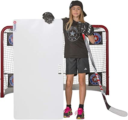 Better Hockey Extreme Shooting Pad - Size 24 inches x 48 inches - Simulates The Feel of Real Ice - Easy to Carry - Great for Shooting, Passing and ...