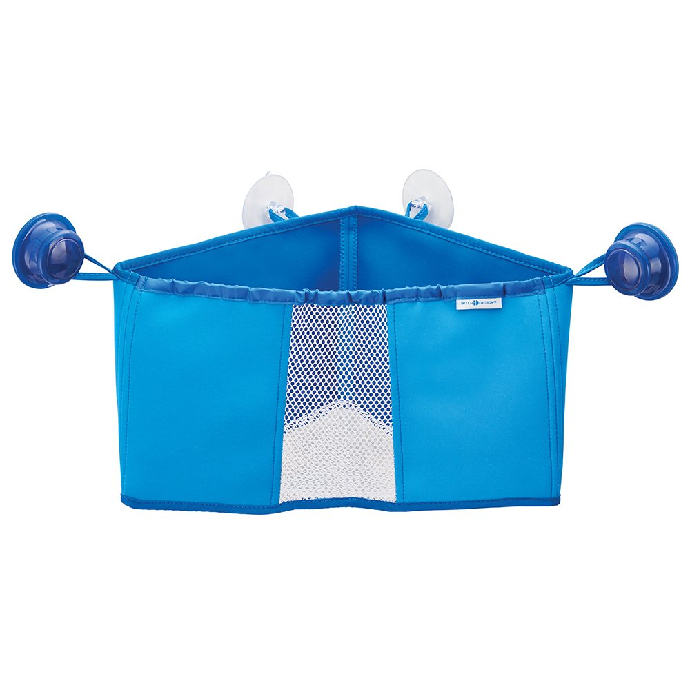 Amazon.com: InterDesign Kids Neoprene Corner Bathroom Shower Caddy ...