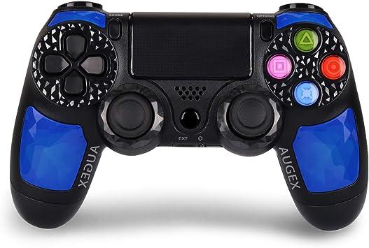 Amazon.com: Controlador PS4 - Controlador inalámbrico Dual ...