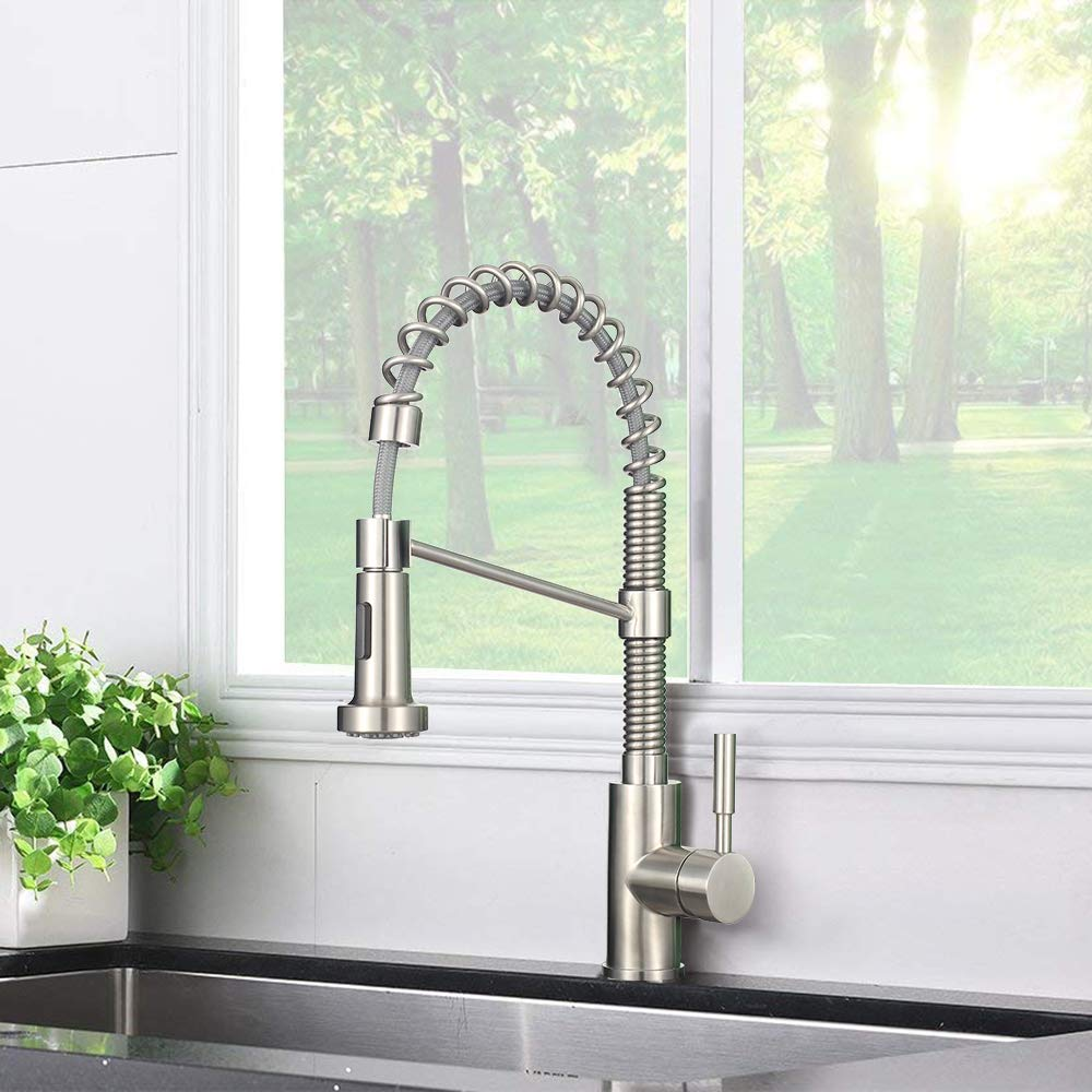 MSTJRY 10 Kitchen Sink Faucet Hole Cover Deck Plate Escutcheon Stainless Steel