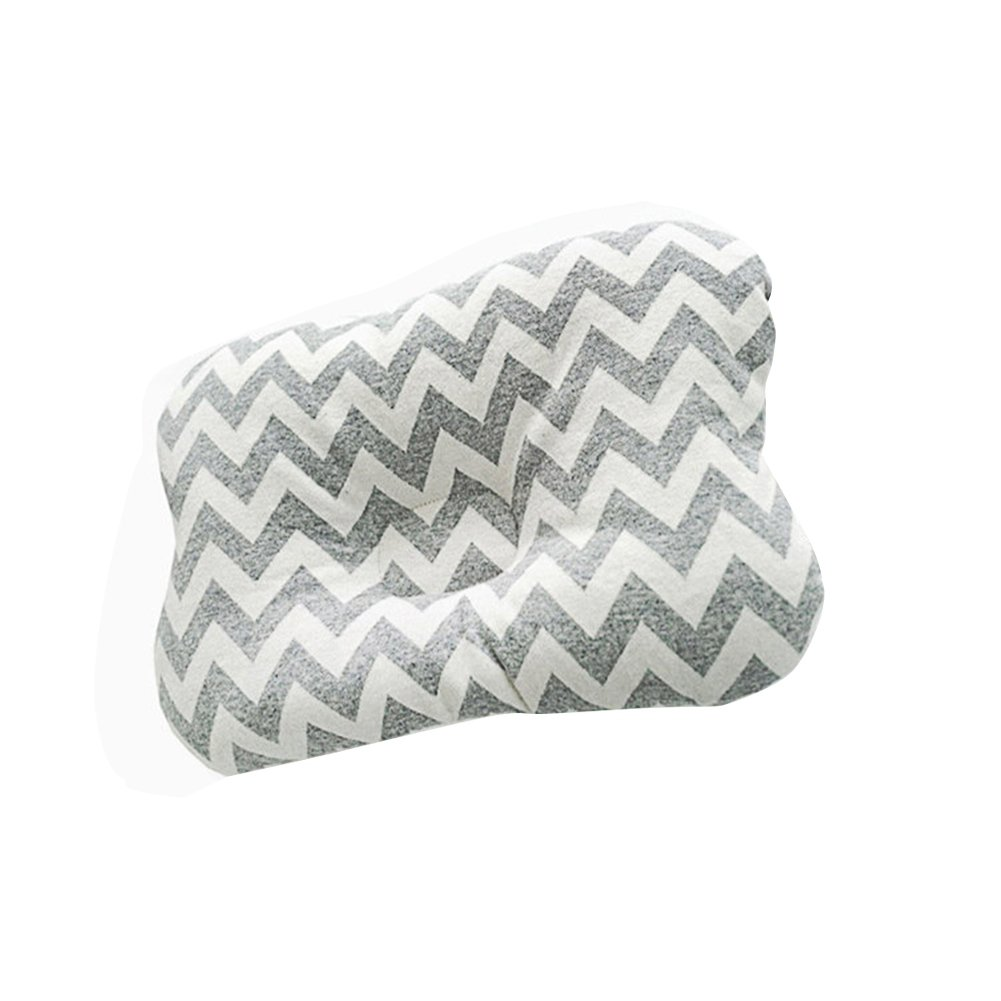 Baywell Baby Pillow Prevent Flat Head Syndrome Anti-Plagiocephaly Breathable for Newborn Infant Toddler (E)