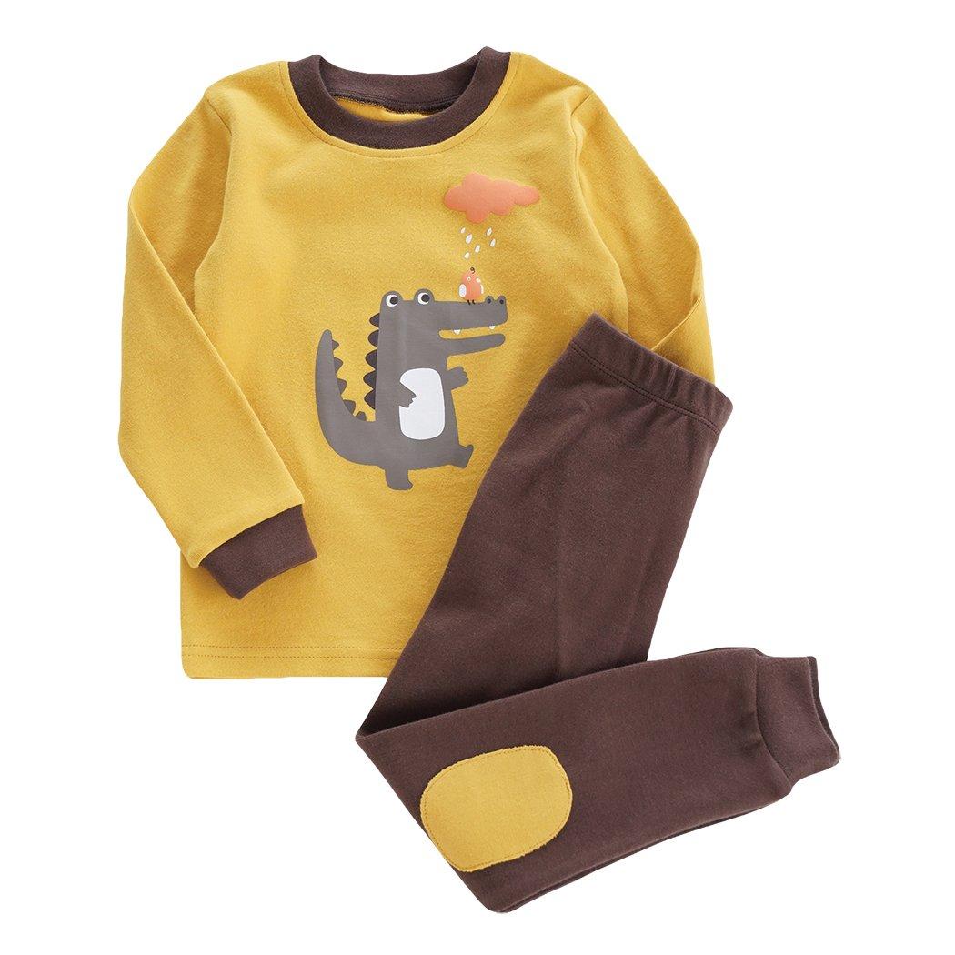53be9ce48d ... Little Hand Jungen Zweiteiliger Schlafanzug Baumwolle Lange Nachtwäsche  Tier Dino Kinder Pyjama BP-6891 ...